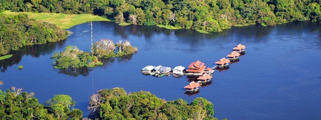 reserva de mamirauá , uacari lodge, no amazonas