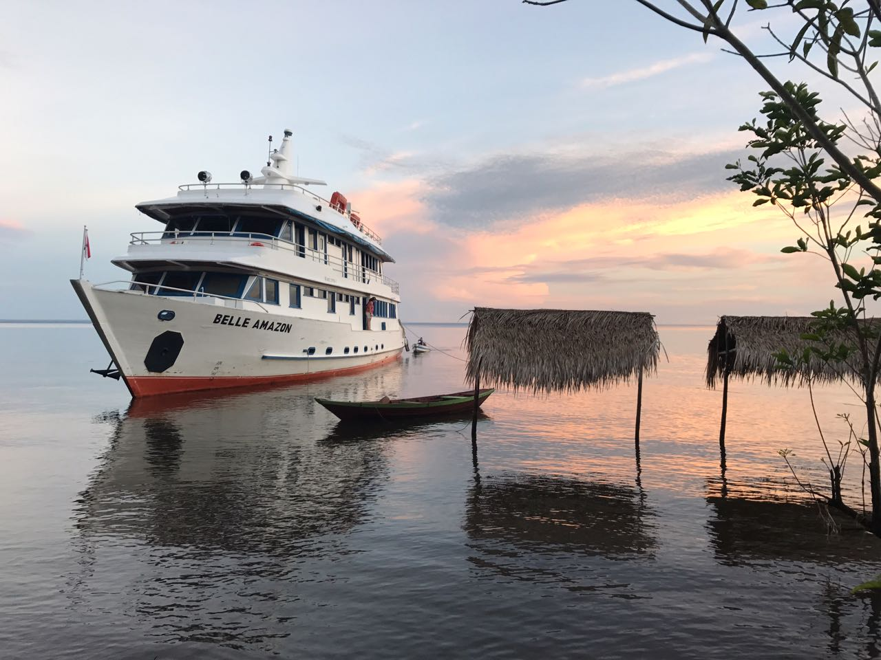 barco navegação alter do chão
