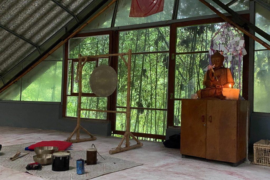 sinal do vale - local para rituais e meditações