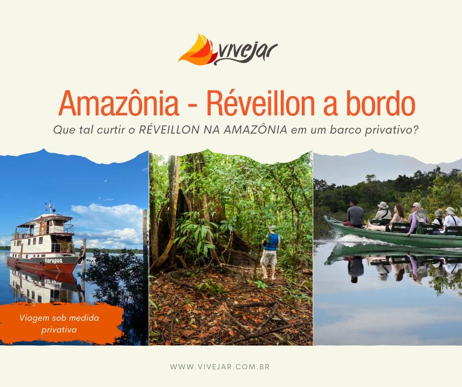 réveillon na Amazônia
